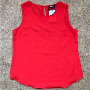 Solid Red Tank Top